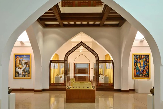 Museums-Interior-view-of-the-Bait-Al-Zubair-museum-Muscat-Oman-5-1024x632